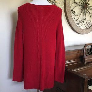 Dana Buchman Sweaters - NWT Dana Buchman Size XL Red Sweater